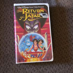 The Return of Jafar VHS Sequel of Aladdin Disney
